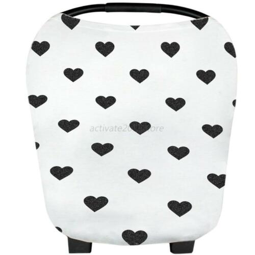 Infant Baby Carrying Case US Stretchy Multi-Use Car Seat Canopy Nursing Cover