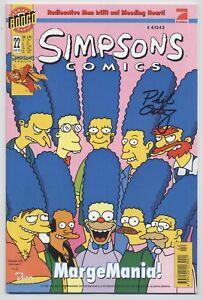 SIMPSONS-COMICS-22-DINO-VERLAG-1998-signiert-PHIL-ORTIZ-TOP