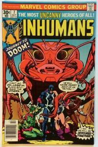 Inhumans-7-Marvel-1976-Bronze-Age-Issue-FN-condition