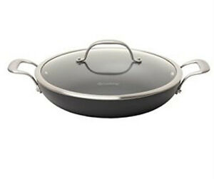 New Chefs Hard Anodized Aluminum Nonstick 12 Inch