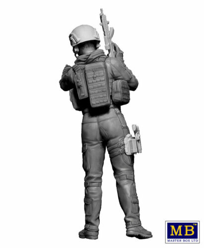 """/""""Our route has been changed!/"""" Modern War Series kit No 1 1//24 MasterBox 24068"""