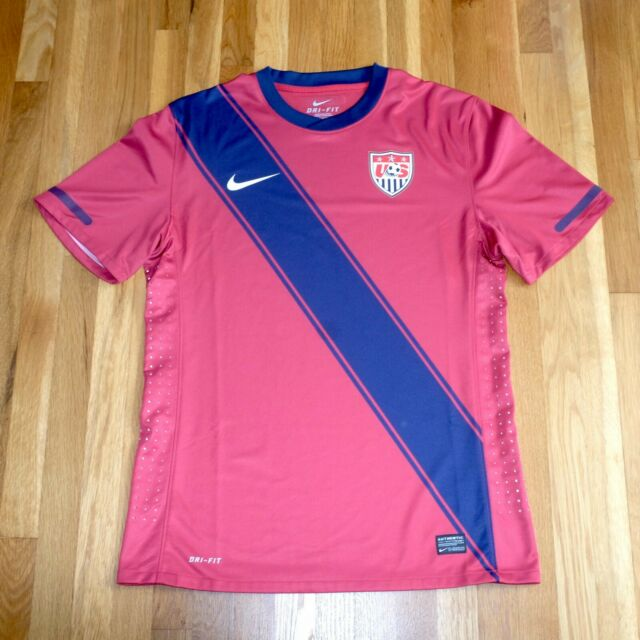 finest selection 9560d 03a36 USA AUTHENTIC PLAYER ISSUE MATCH NIKE SOCCER JERSEY 2011 GOLD CUP