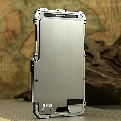 Armor Luxury Metal Aluminum Case Cover For Apple iPhone 6/6s iPhone 7 8 Plus X