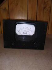 Vintage Triplett Model 426 Vacuum Tube Volt Meter And Volt Ohm Meter