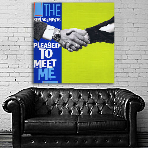 #01 The Replacement Pleased to Meet Me Large Print Poster