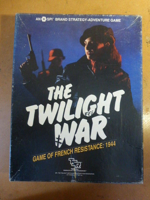 La guerra de Crepúsculo completo por TSR juego de frenceh resistencia SPI