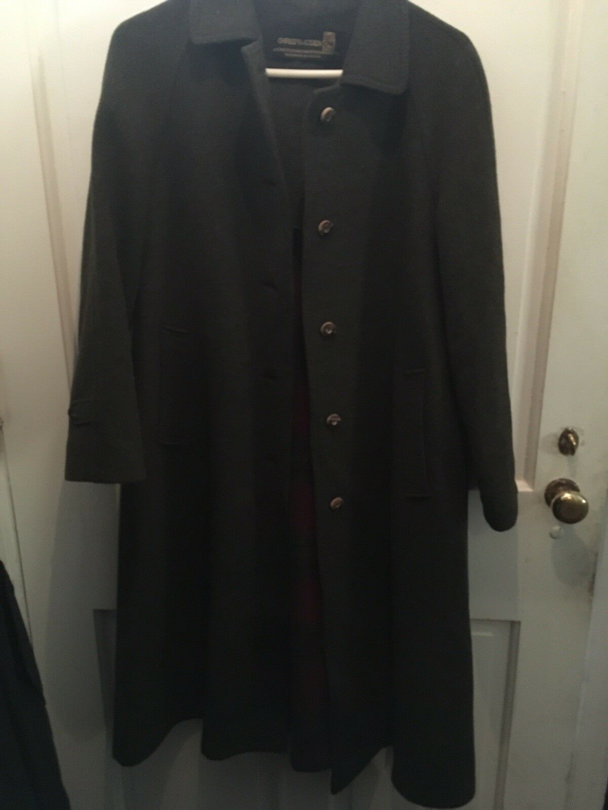 CHRISTAMODEN LADIES COAT SIZE 38 DOUBLE FACE WOOL MADE IN AUSTRIA
