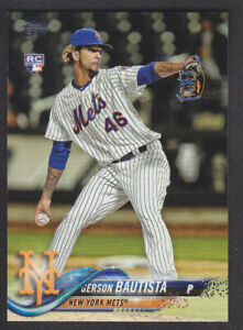 Topps-Update-2018-Base-US181-Gerson-Bautista-New-York-Mets-RC