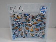 Good Day for Ducks 500 Piece Jigsaw Puzzle Schmid 78451 Royce Mallard Wood 2005
