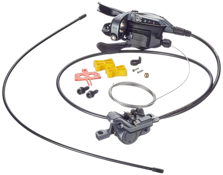 SHIMANO ALIVIO BR-M4050 Scheibenbremse Set Vorderrad 3-fach LINKS   NEU & OVP