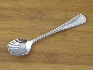 Oneida-Flambe-Sugar-Shell-Spoon-6-034-NEW-Stainless-Flatware-Silverware-Glossy