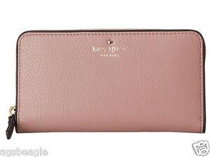 Kate Spade Wallet PWRU1801 Cobble Hill Lacey Makeup Pink Agsbeagle #BagsFever
