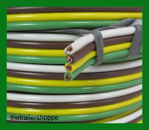Image Is Loading Trailer Light Cable Wiring Harness