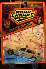 ROAD CHAMPS RHODE ISLAND STATE POLICE 1/43 SCALE FORD CROWN VICTORIA 1995