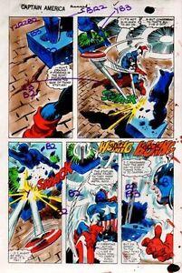 Original-1981-Colan-Captain-America-Annual-Marvel-Comics-color-guide-art-page-43
