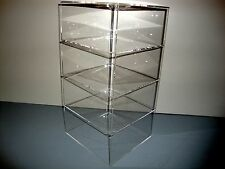 305displays Acrylic Lucite Countertop 8 X 8 X 16 Display Showcase Cabinet
