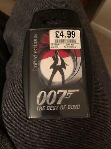 2019 Nouveau Style Top Emporte Sur - 007 Le Meilleur De Bond 2008 édition Limitée-jamais Utilisé-afficher Le Titre D'origine