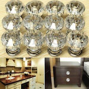 12PCS-Diamond-Crystal-Glass-Door-Drawer-Cabinet-Wardrobe-Pull-Handle-Knob-l