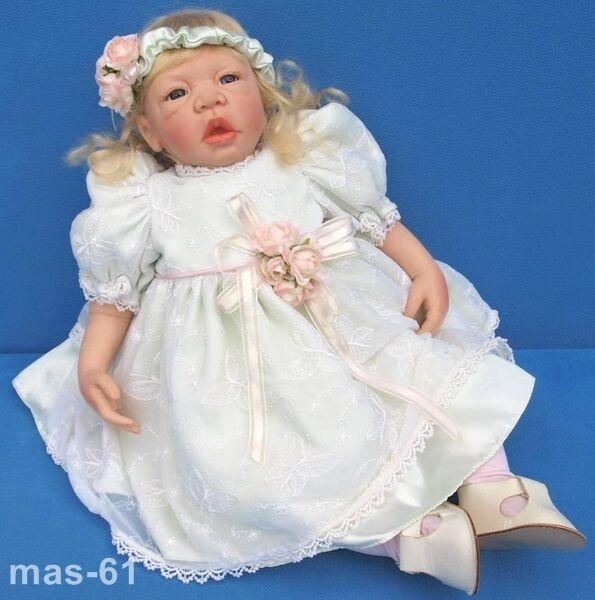 MELISSA KÜNSTLERPUPPE PUPPE BABY LIMITIERT 032 100 2005 55 CM DOLL