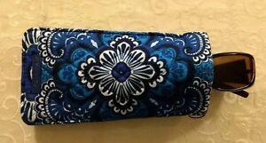 New-Vera-Bradley-Sunglass-Eyeglass-Sleeve-Case-Blue-Tapestry-181124-651