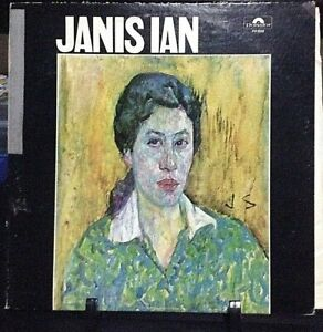 JANIS-IAN-Self-Titled-Album-Released-1967-Vinyl-Record-Collection-US-pressed