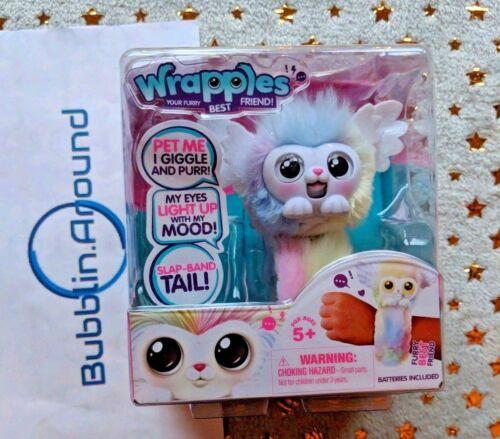 Wrapples Rainbow Luna Little Live Pets Interactive Furry Friends