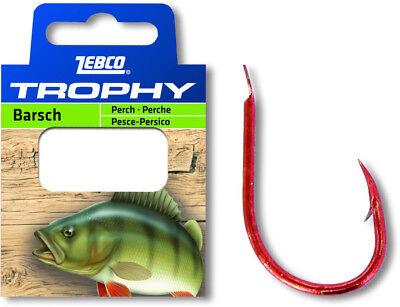 Zebco Trophy Barsch Vorfachhaken Angelhaken Haken gebunden angeln Fisch fangen