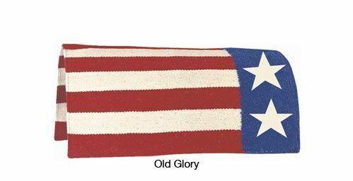 Old Glory Horse Saddle Blanket 36×34