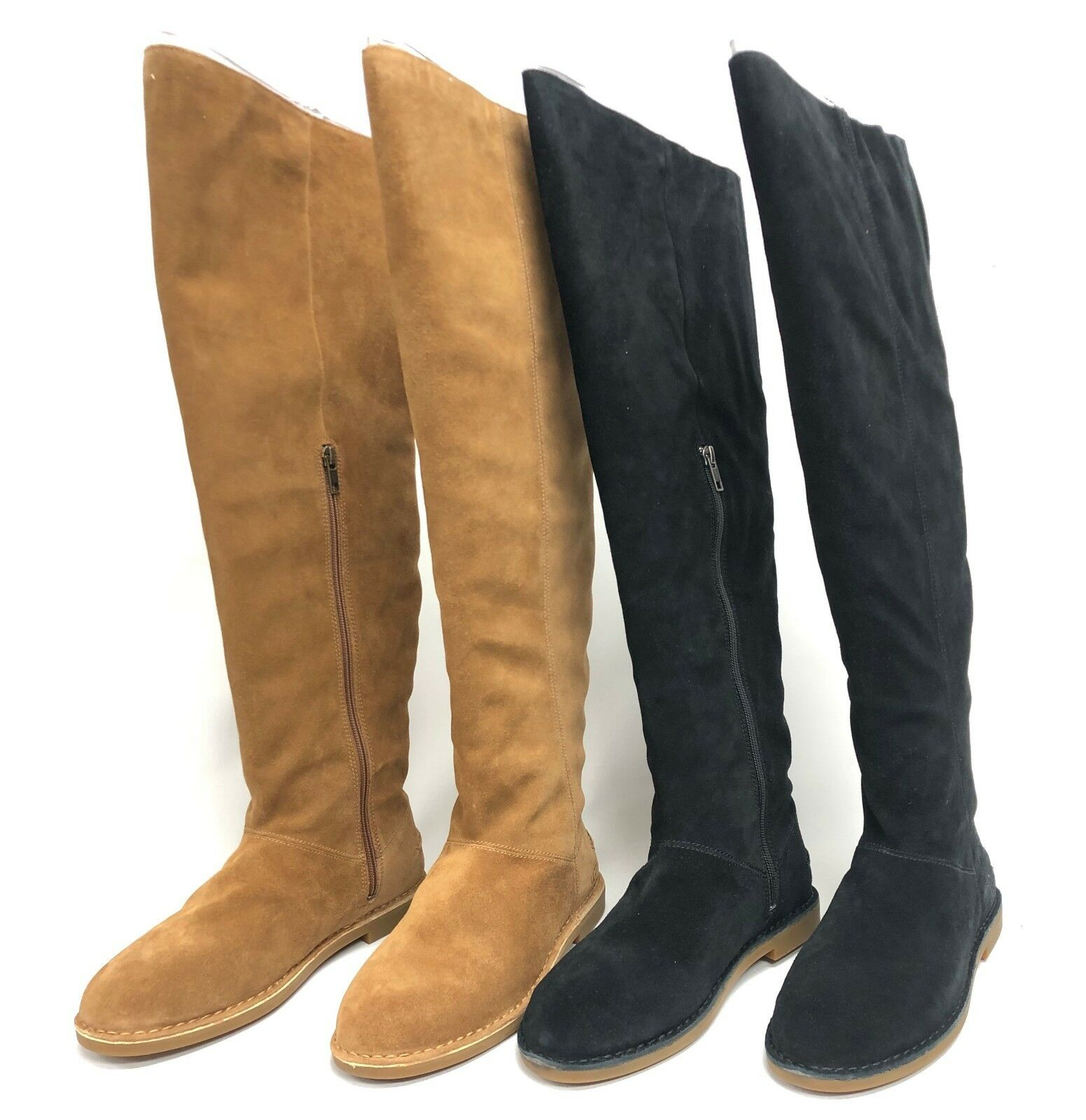 a3adcdd5641 Ugg Australia Loma Over the Knee Boot Black or Chestnut 1095394 Suede Tall  Boots