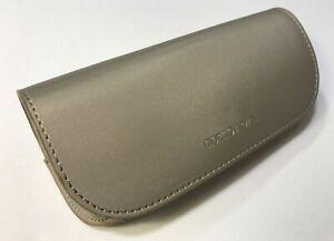 Giorgio Armani Sunglassee Eyeglass Leather Case and Cleaning Cloth New Genuine