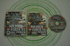 Soldier of fortune ps3 pal