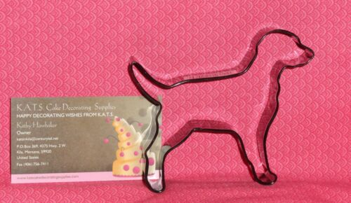 "Metal Cookie Cutter Black Labrador Retriever,Dog Coated Metal,Black,4/"",OTBP"