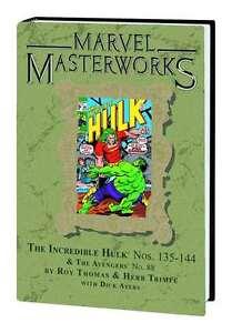 Marvel-Masterworks-193-INCREDIBLE-HULK-Volume-7-DM-Variant-Hard-Cover-NM