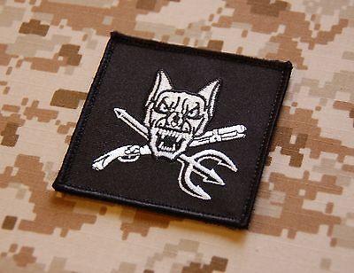 NSW Dog Handler Morale Patch Navy SEAL K9 US Navy USN AOR1 DEVGRU Hook Backing