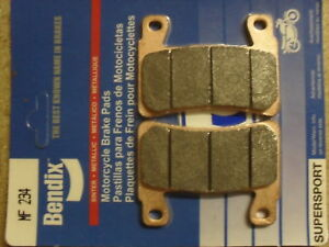 BENDIX-234-MF-CB-1300-R-2004-HIGH-PERFORMANCE-SINTERED-FRONT-CALIPER-BRAKE-PADS