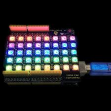 Keyestudio Ws2812b Rgb Led Dot Matrix Display Diy Shield For Arduino