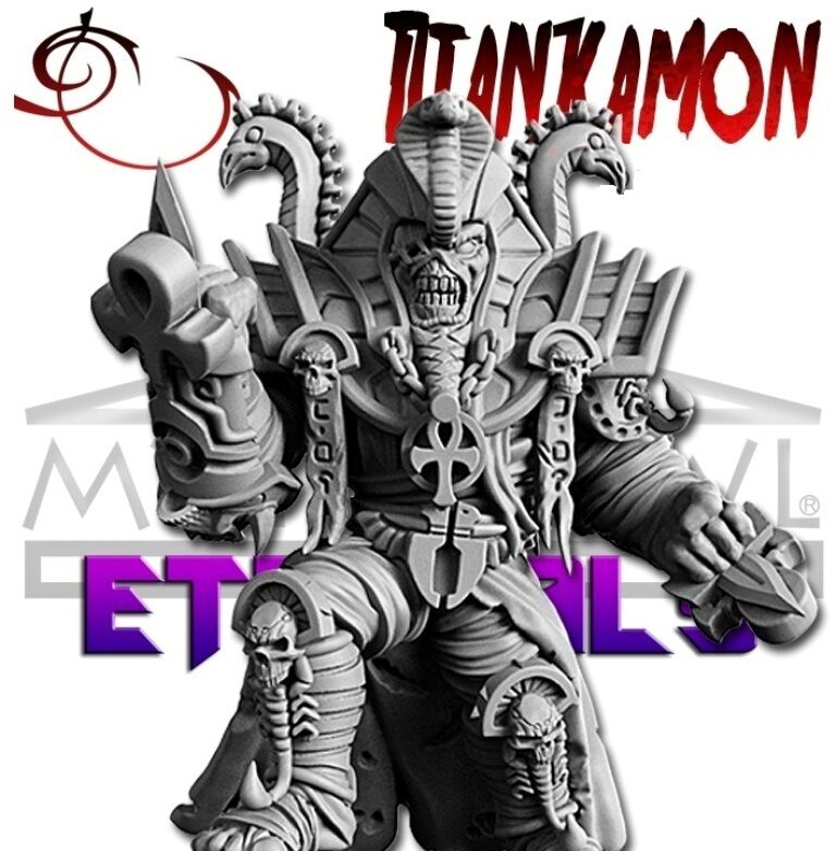 RN Estudio Mythbowl Eternals Mummy Star Player Titankamon