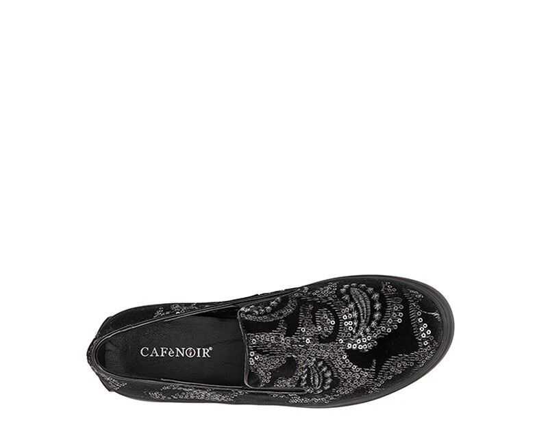 shoes shoes shoes CAFéblack Femme black Pailettes,Tissu JDE932010 59f8fc