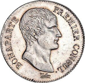 Bonaparte-premier-Consul-5-Francs-AN-XI-Paris-Superbe-exemplaire
