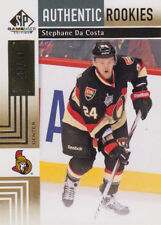 11-12 SP Game Used GOLD xx/50 Made! Stephane DA COSTA #157 - Senators Rookie