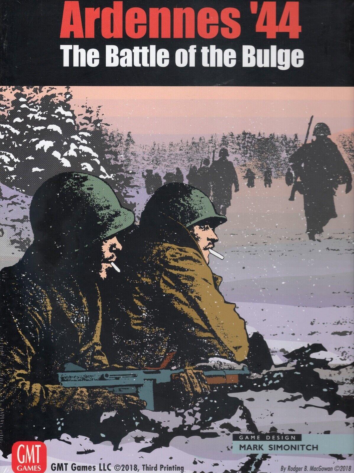 GMT Ardennes '44  The Battle of  the Bulge tavolagioco, Third Printing  elementi di novità