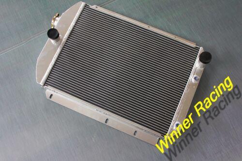 56mm radiator for Chevy hot//street rod 350 V8 W//Tranny Cooler 1937