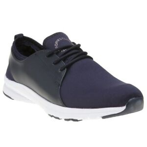 Trainers New Lace Studio Textile Superdry Navy Elasticated Running Style Womens nqzqZBxwX