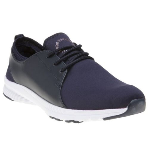 Lace Studio Womens Style Elasticated Running Textile Superdry New Navy Trainers xzn6wSUH