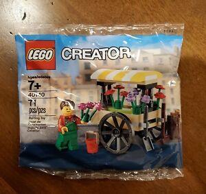 Lego 40140 Flower Cart  Poly Bag
