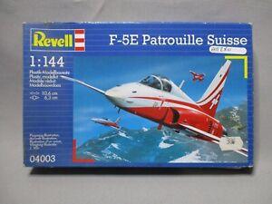 AM280-REVELL-1-144-MAQUETTE-AVION-F-5E-PATROUILLE-SUISSE-REF-4003-TRES-BON-ETAT