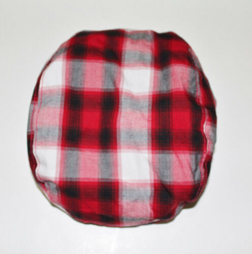 Gymboree Boy/'s Red Plaid Holiday Memories Paperboy Cap//Hat NWT Size SMALL