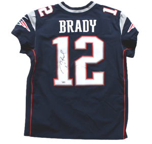 Details about Tom Brady New England Patriots Signed Autograph Nike Elite Navy Jersey Fanatics