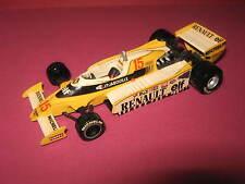1:43 Renault F1 RS11 J.P. Jabouille 1979 handbuilt modelcar Tenariv in showcase