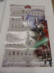 STAR-WARS-MINIATURE-GAME-WOTC-GALAXY-AT-WAR-DOUBLE-SIDED-SET-POSTER-GM1167